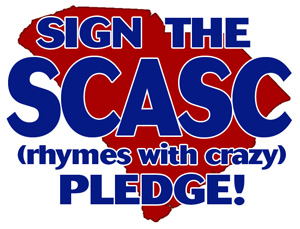 Sign the SCASC (rhymes with crazy) Pledge!